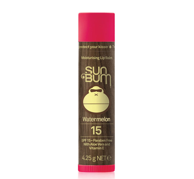 SUN BUM SPF 15 LIP BALM - WATERMELON Glam Raider