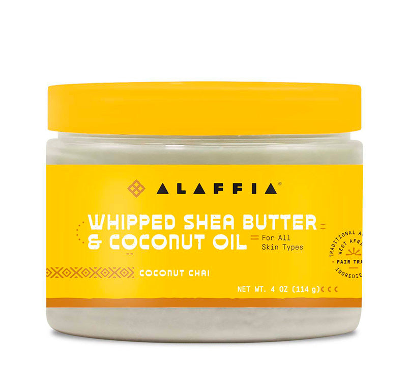 WHIPPED SHEA BUTTER & COCONUT OIL - COCONUT CHAI