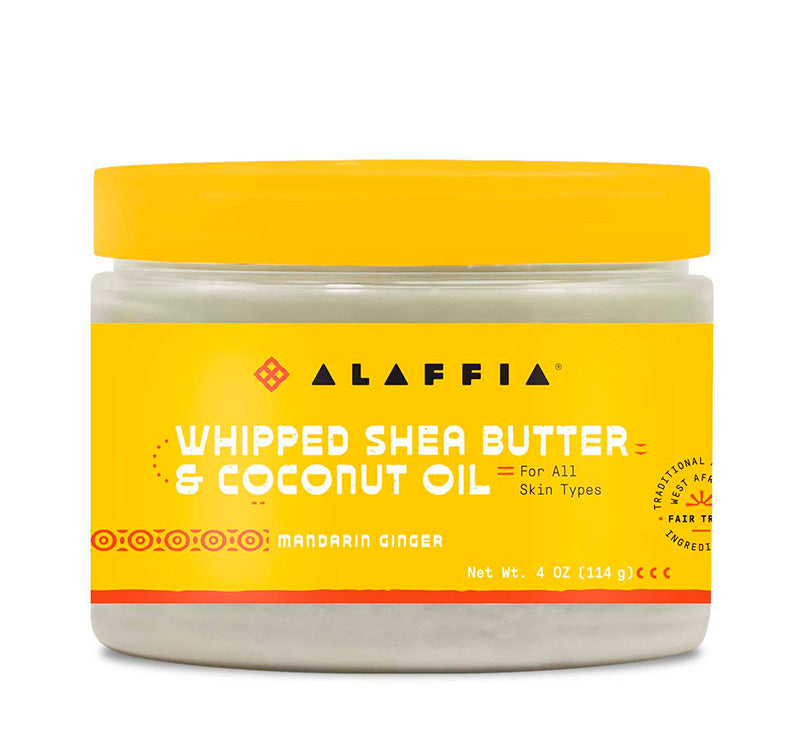 WHIPPED SHEA BUTTER & COCONUT OIL - MANDARIN GINGER