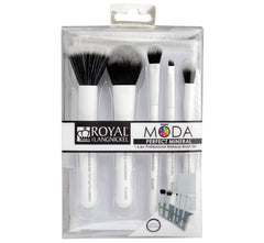 PERFECT MINERAL BRUSH KIT - WHITE