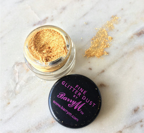 YELLOW GOLD FINE GLITTER DUST