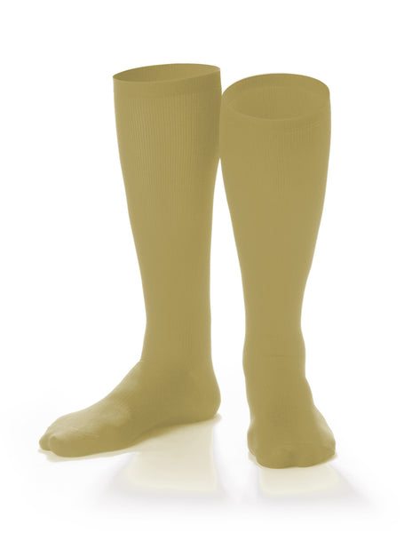 Travel Compression Socks - SOUL LEGS Men's Tan Dress Socks 15 - 20mmHG - Soul Legs