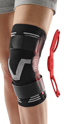 DONJOY Stabilax compression knee brace (removable hinges)