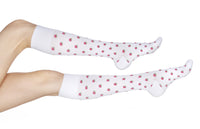 Designer Compression Socks - REJUVA Rose 15 - 20mmHG - Soul Legs