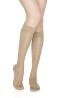 REJUVA Sheer Dot Buff Below Knee Stockings 15 - 20mmHG - Soul Legs