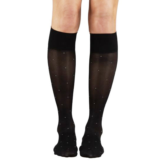 SOUL LEGS Connect The Dots Below Knee Stockings 15 - 20mmHG