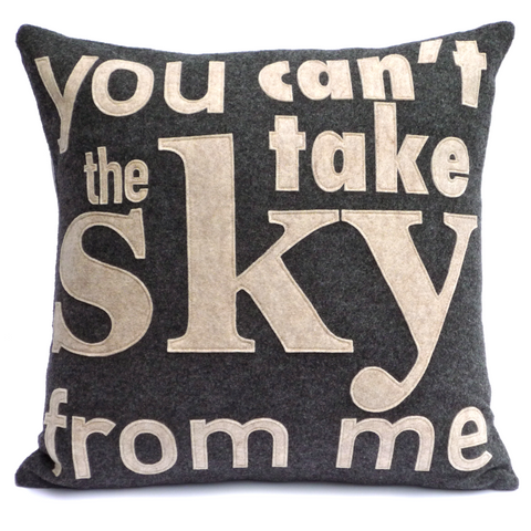 You Can't Take The Sky From Me - Firefly inspired Pillow Cover