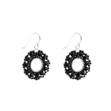 Filigree Earring | Midnight Black