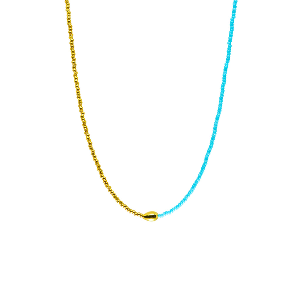 Harmony Necklace | Turquoise Gold