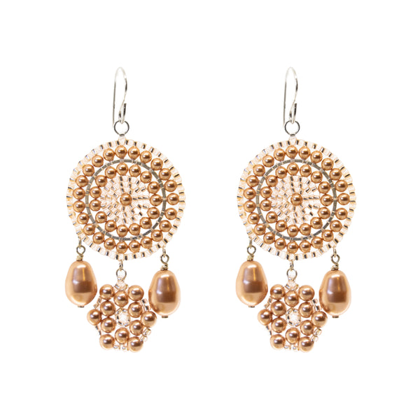 Desire Earring | Rose-Gold Dust