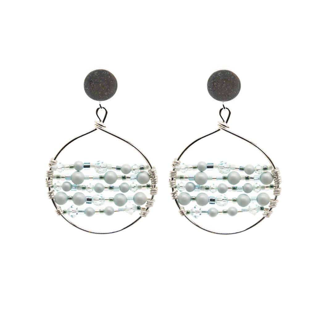 Catch Earring | Bliss Blue