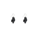 Clover Earring | Midnight Black
