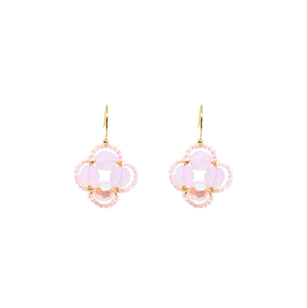 Clover Earring | Pink Oasis