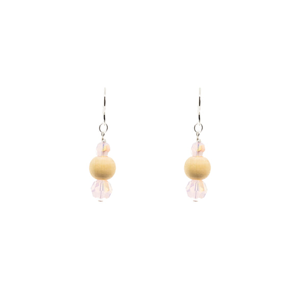 Trio Drop Earring| Pink Oasis