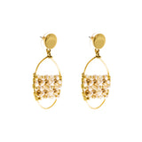 Catch Earring | Gold Pearl