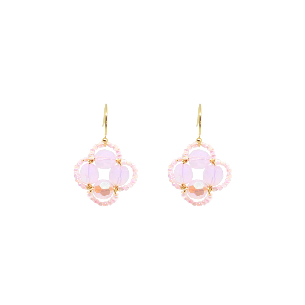Clover Earring | 14k Rose-Gold Fill
