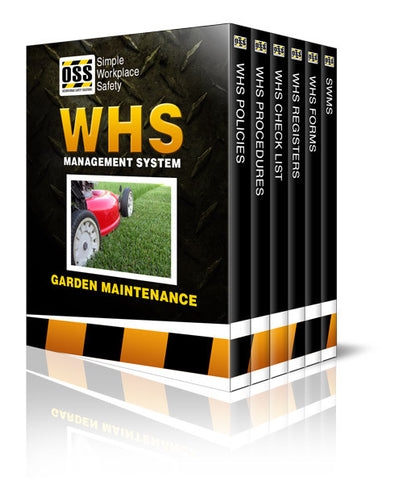 WHS Industry Pack - Garden Maintenance