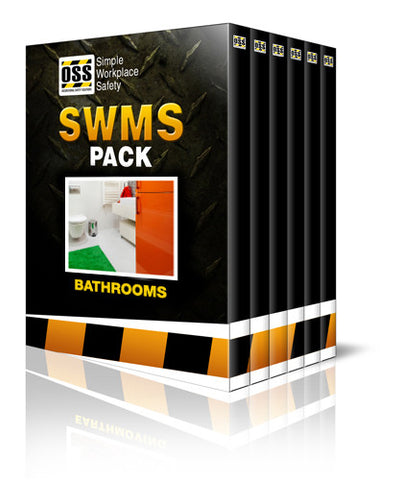 SWMS Pack - Bathrooms