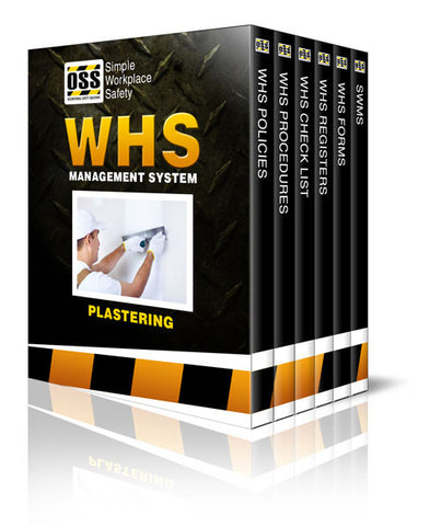 WHS Industry Pack - Plastering
