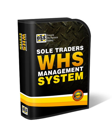 Sole Trader WHS Management System Upgrade
