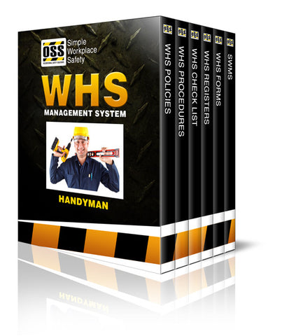 WHS Industry Pack - Handyman