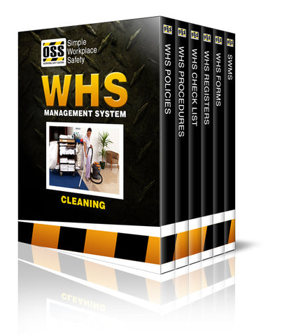 WHS Industry Pack - Cleaning