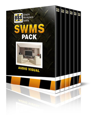 SWMS Pack - Audio Visual