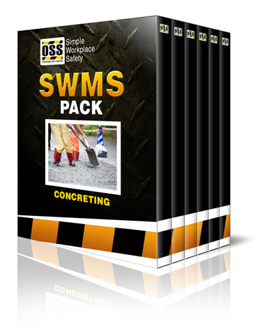 SWMS Pack - Concreting