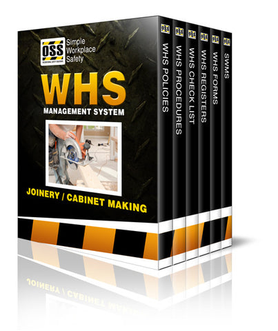 WHS Industry Pack - Joinery / Cabinet Making