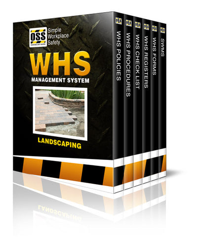 WHS Industry Pack - Landscaping