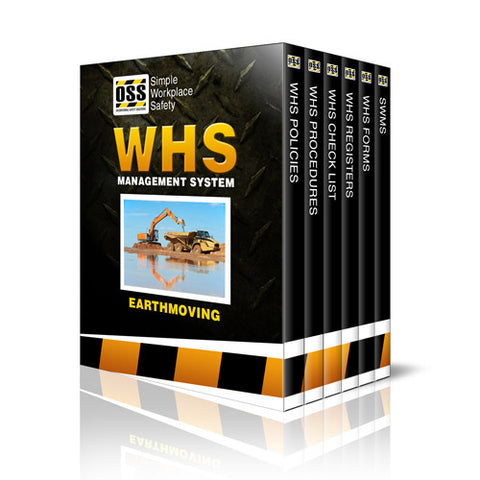 WHS Industry Pack - Earthmoving