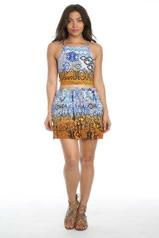 Until Sunrise Short Skirt