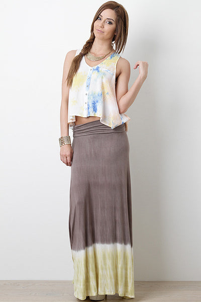 Strange Waters Maxi Skirt