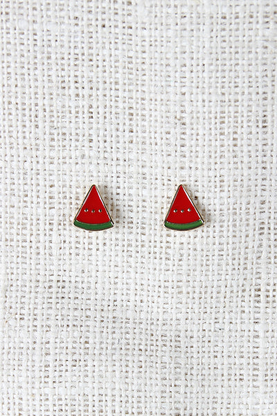 Watermelon Stud Earrings