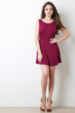 Sleeveless Jersey Knit Skater Mini Dress