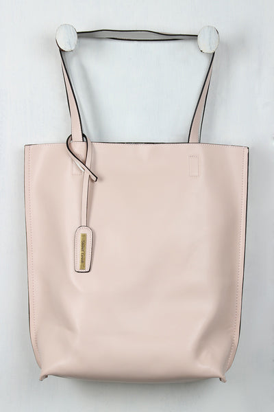 Classic Vegan Leather Tote Bag