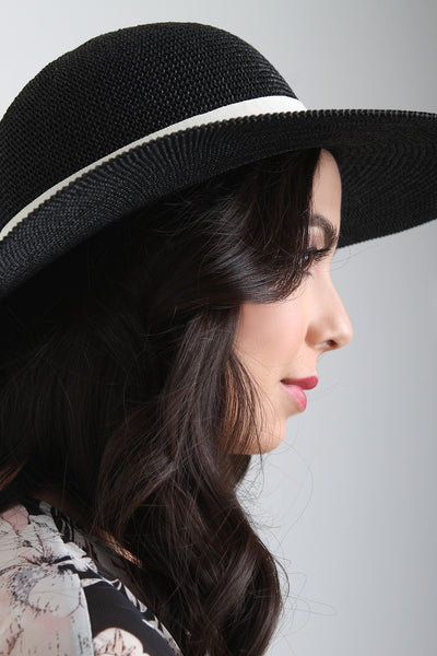 Wide Brim Floppy Sun Hat
