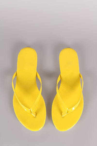 Liliana Simple Thong Slip On Flat Sandal