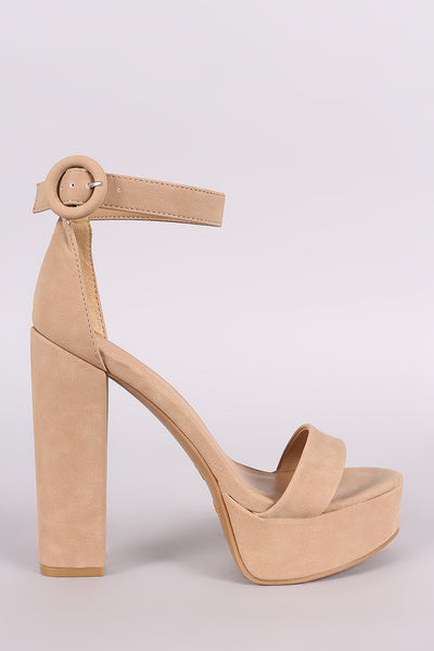 bc0a6ac319d Bamboo Nubuck Ankle Strap Platform Chunky Heel – Purposed By Design (Honey  Skies)