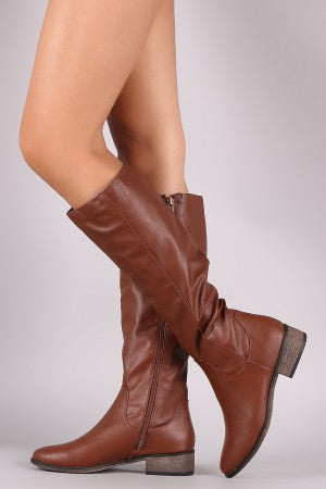 Bamboo Classic Riding Knee High Boots