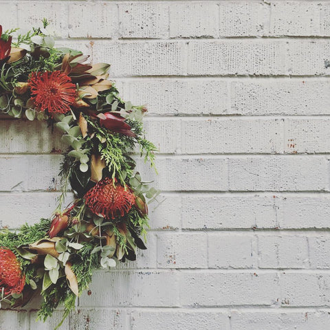 Christmas Wreath Workshops Perth