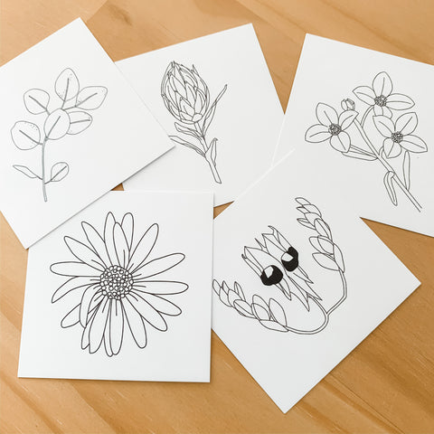 Sca.Har : Illustrated Gift Tags