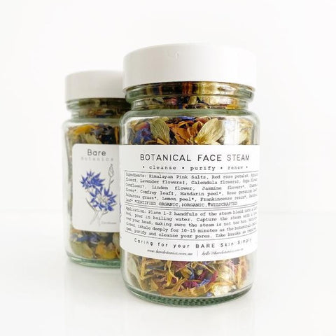 Bare Botanics : Face Steam