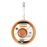 "10"" FRY PAN, COPPER TONE CERAMIC NON-STICK COATING"
