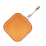"11"" GRIDDLE, COPPER TONE CERAMIC NON-STICK COATING"