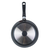 FAT-FREE FRY PAN WITH DETACHABLE EASY CLICK DRIP-DROP PLATE, 11""