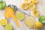 LEMON & LIME PRESS WITH EASY POUR SPOUT YELLOW, 9""