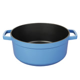 "4 QT.  CAST ALUMINUM DUTCH OVEN, 9"" (BLUE)"