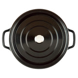"7 QT.  CAST ALUMINUM DUTCH OVEN, 11"" (BLACK)"