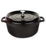 "7QT. Cast Aluminum Dutch Oven, 11"" (BLACK)"